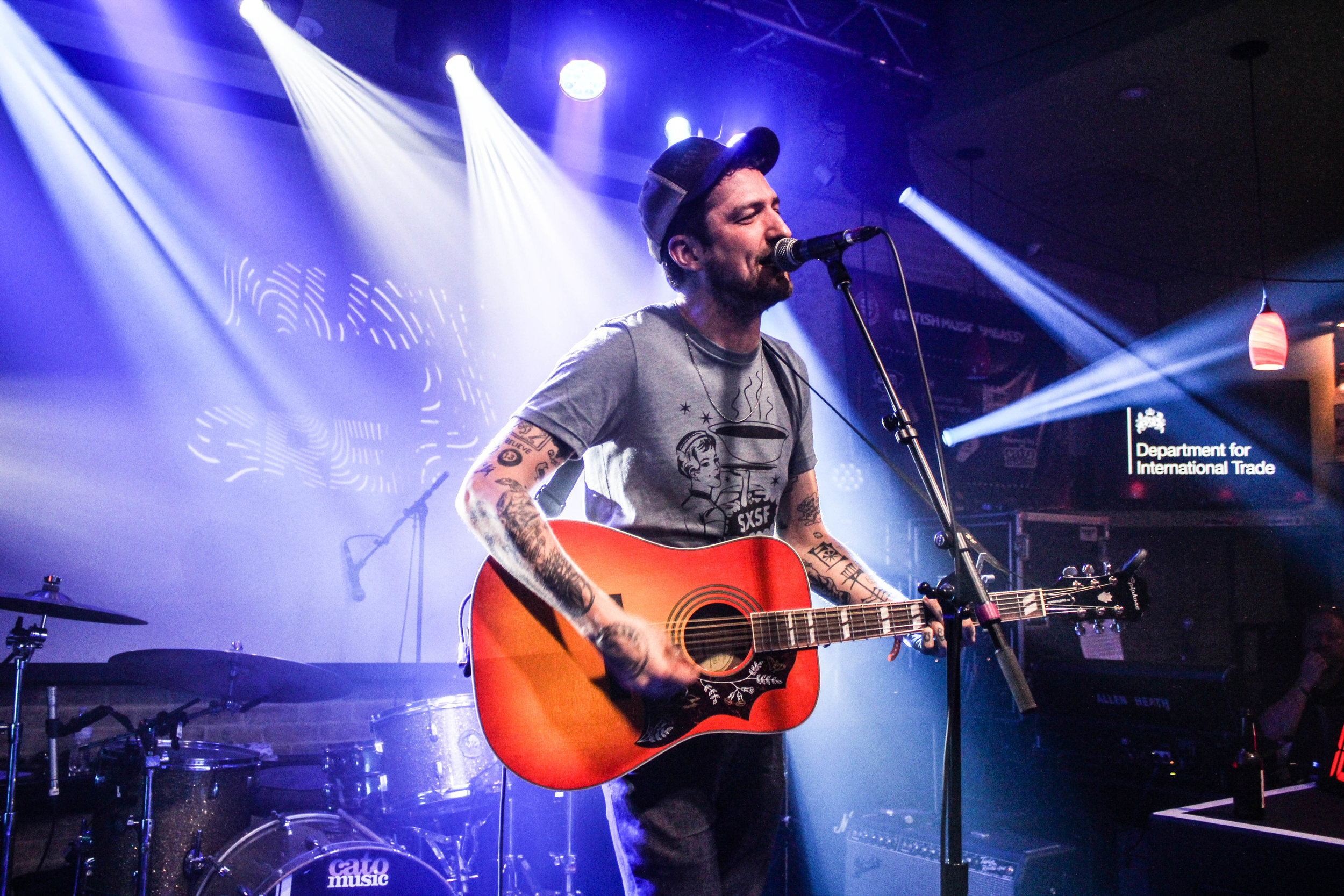 Frank Turner at SXSW - Photo © Concentus Music - Reproduction without permission not permitted