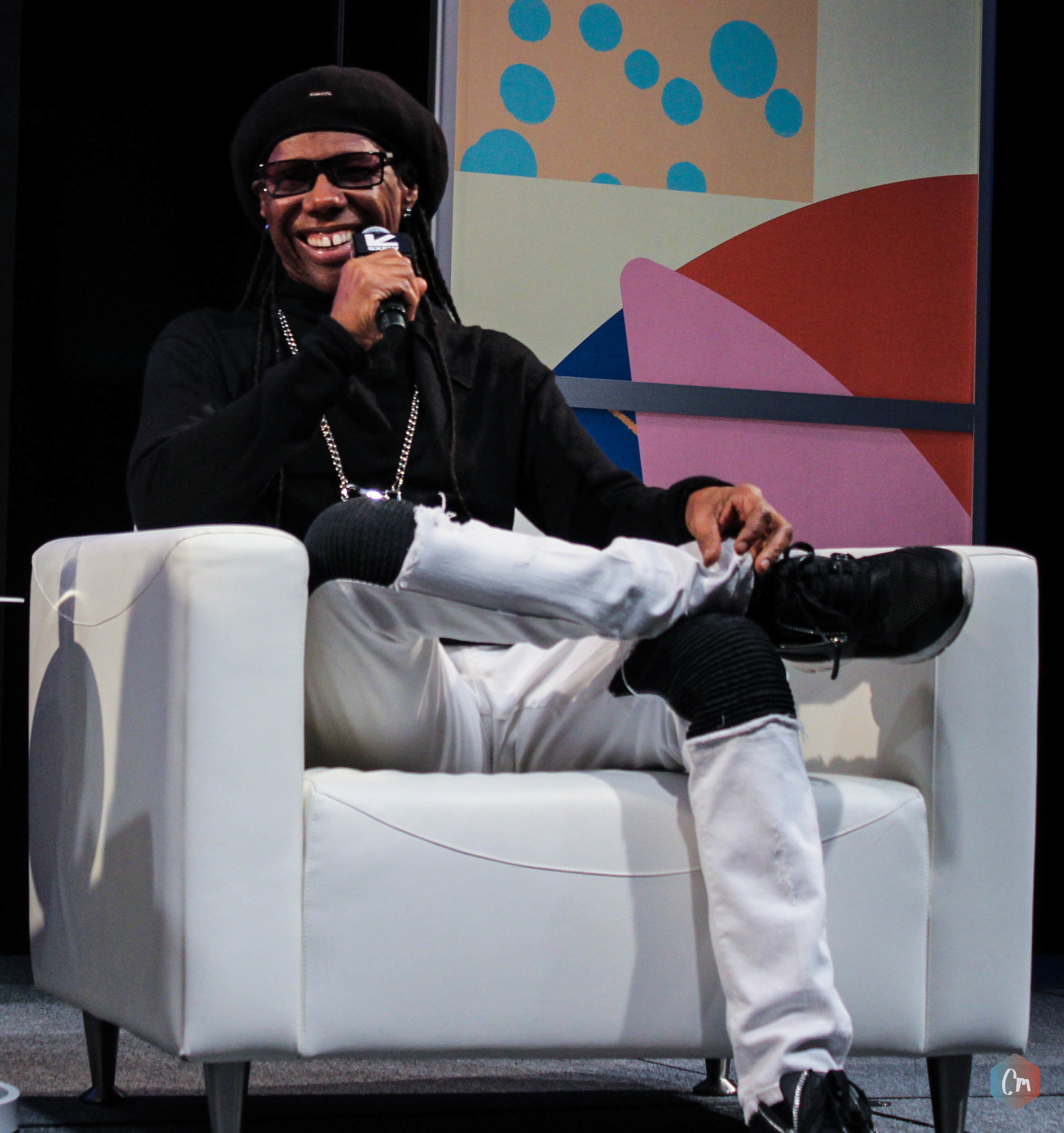 Nile Rodgers at SXSW - Photo © Concentus Music - Reproduction without permission not permitted