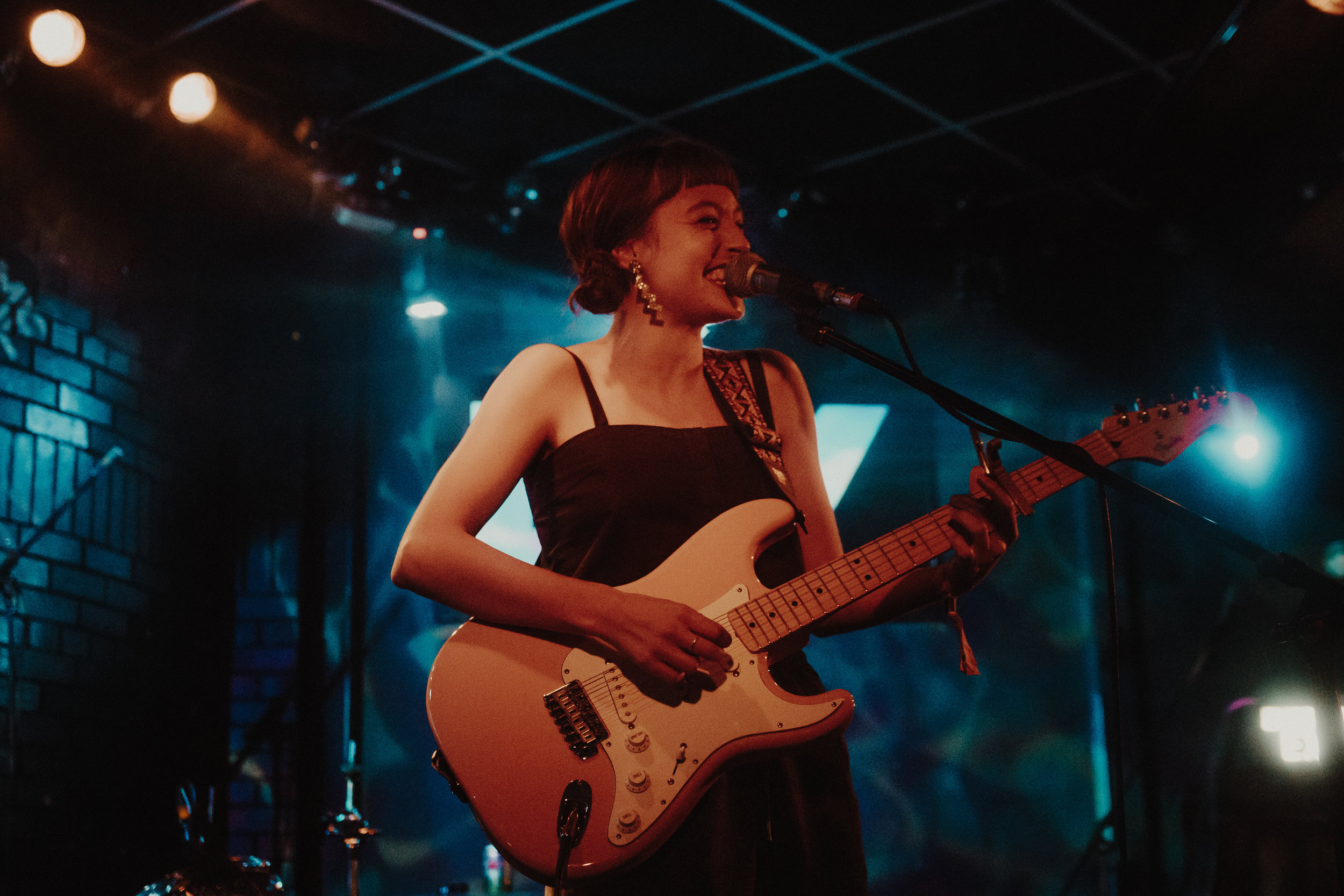 Stella Donnelly at Live at Leeds - Photo shot by Tom Russell for © Concentus Music - Reproduction without permission not permitted