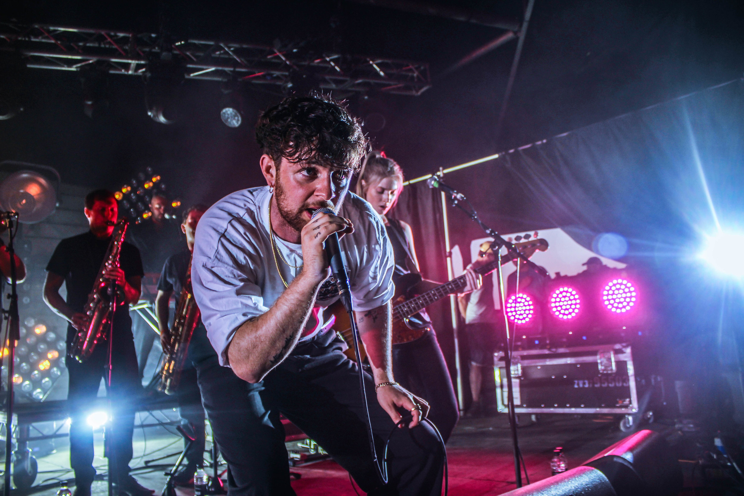 Tom Grennan at Barn on the Farm - Photo © Concentus Music