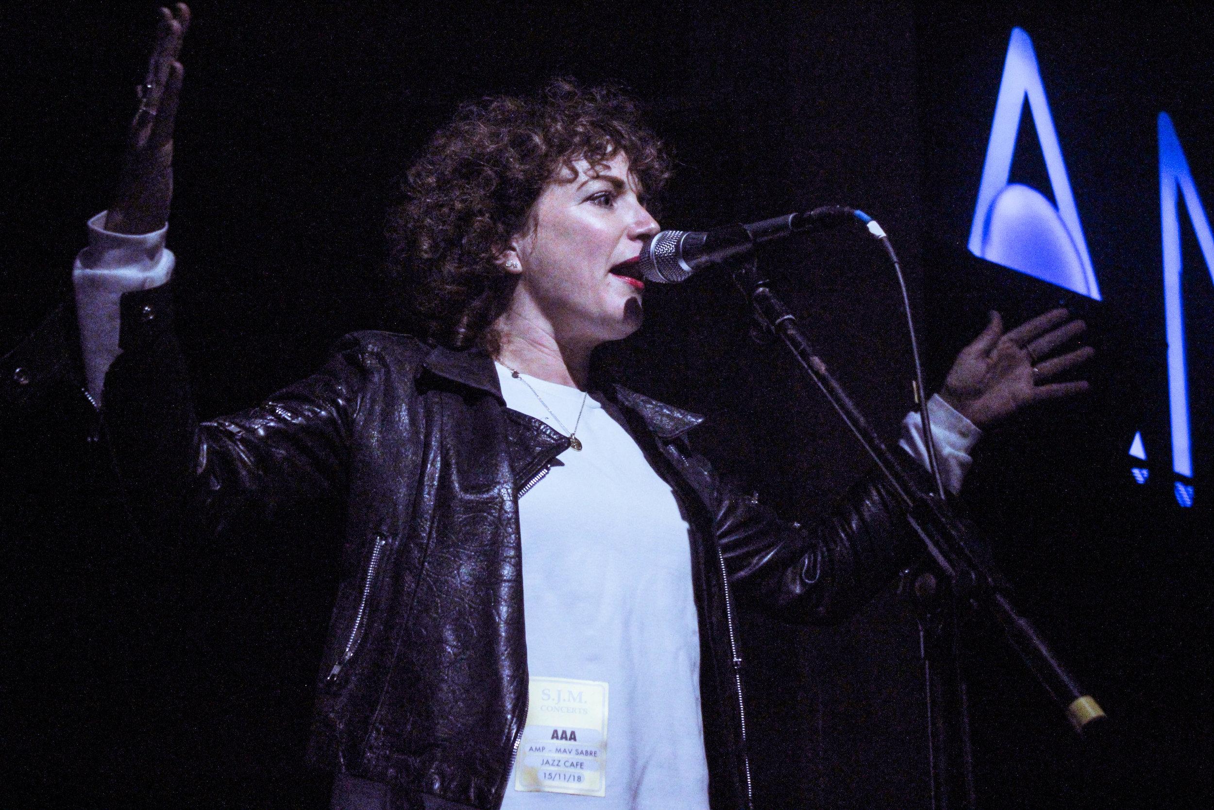 Annie Mac at AMP - Photo © Concentus Music