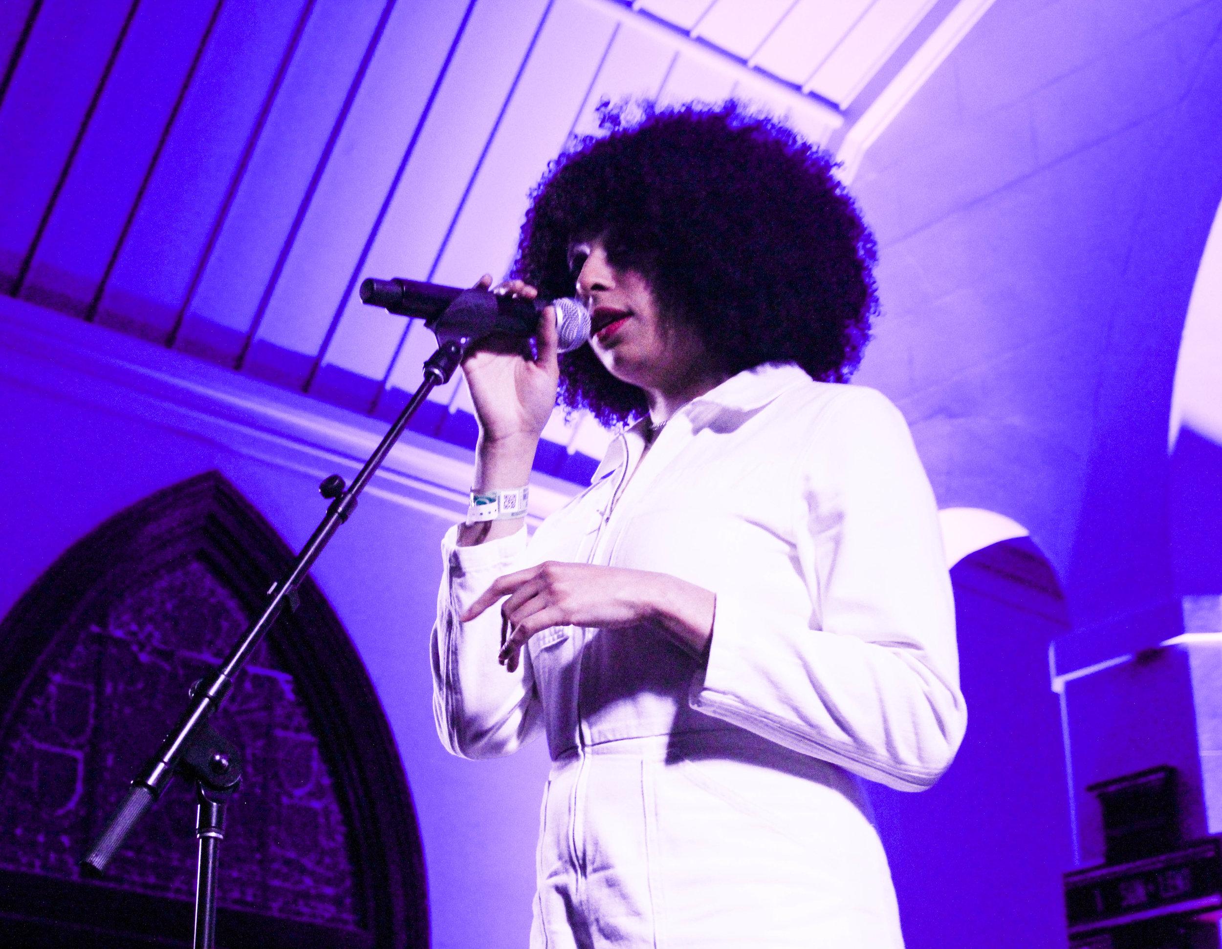 Photo © Concentus Music - Celeste at SXSW