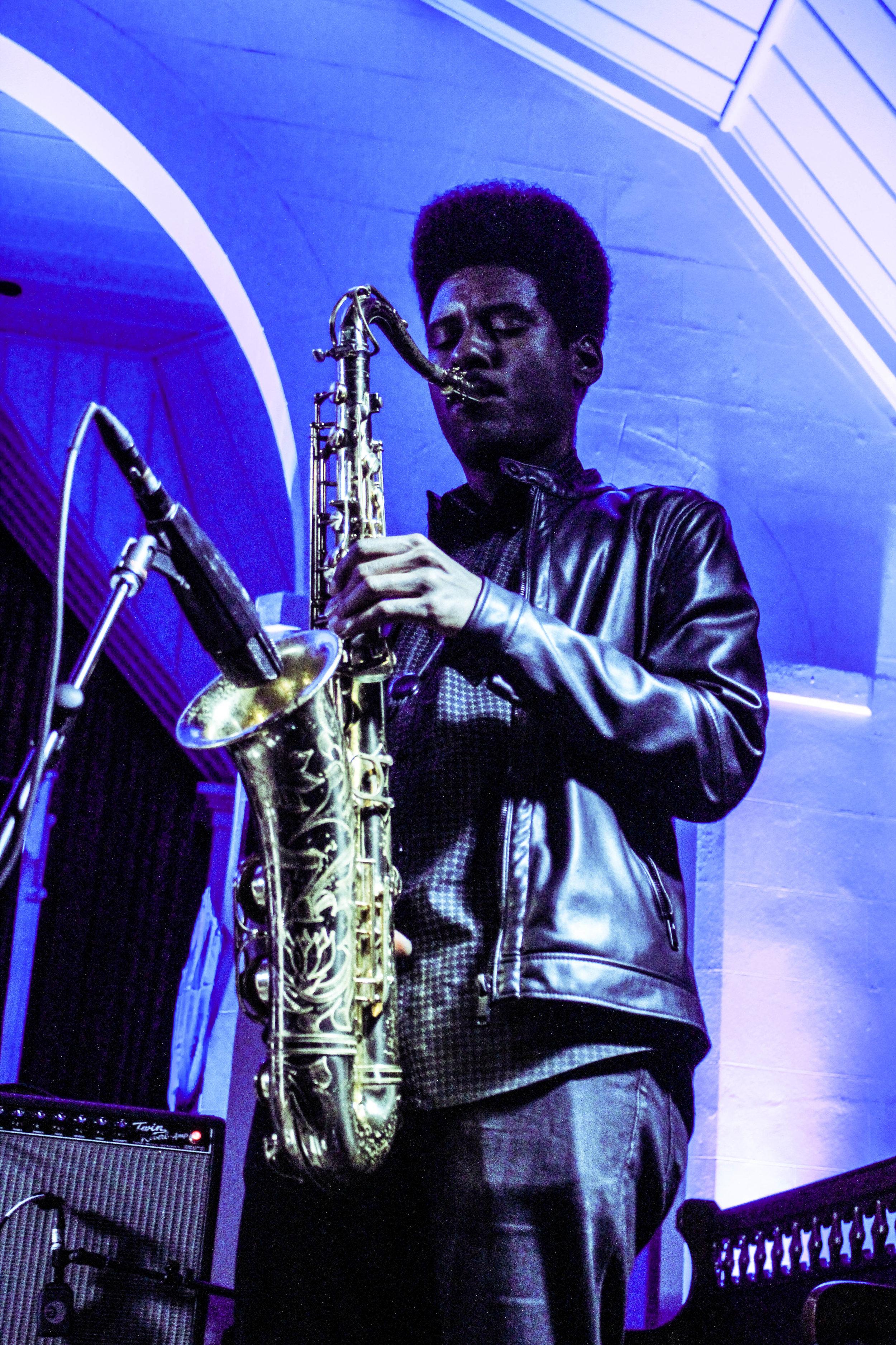 Photo © Concentus Music - Celeste (Saxophonist) at SXSW