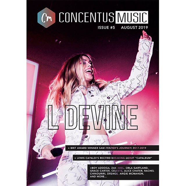 Issue #5 with cover star @ldevinemusic is OUT NOW! Bringing pop music back, the issue is launching tonight with her performance at #MTVPush. Also includes: @lewiscapaldi @sam_fender @boy_azooga and more! Avail at Rough Trade, selected indie venues, and our website (link in bio) 🔥 ....... #newmusic #ldevine #magazine #mtv #roughtrade #newcastle #london