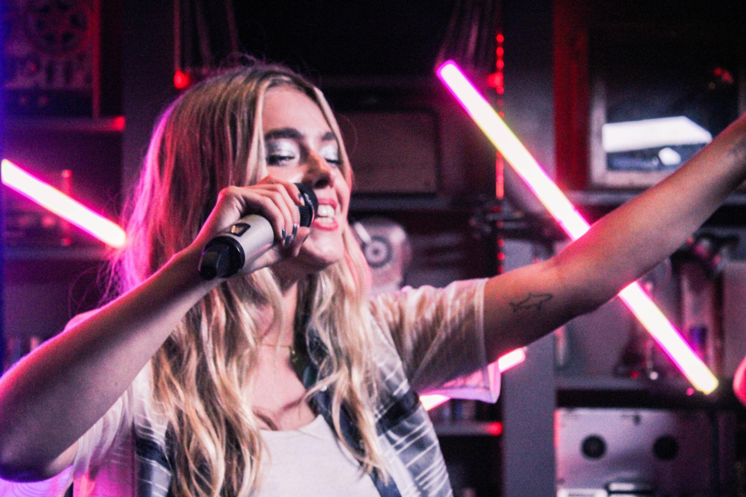 L Devine at MTV Push - Photo © Concentus Music