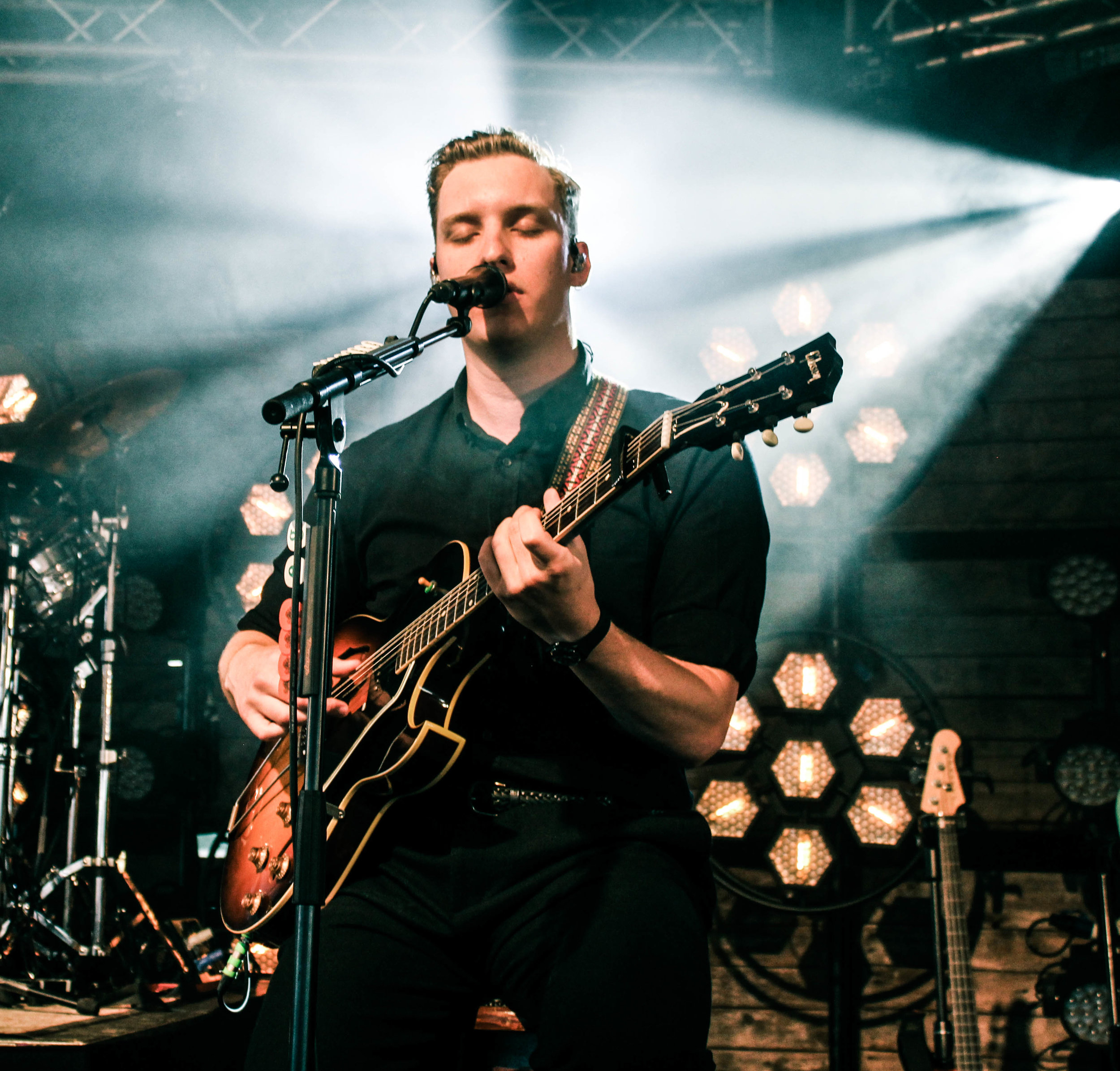 George Ezra at Barn on the Farm - Photo © Concentus Music