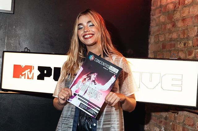 MTV has shown the new issue of the Concentus magazine such wonderful support this week, as cover star @ldevinemusic performed at #MTVPush this week 🔥 WE LOVE U MTV and thanks for making this so special ❤️ The issue is now avail in store at Rough Trade and online! #ldevine #pop #london
