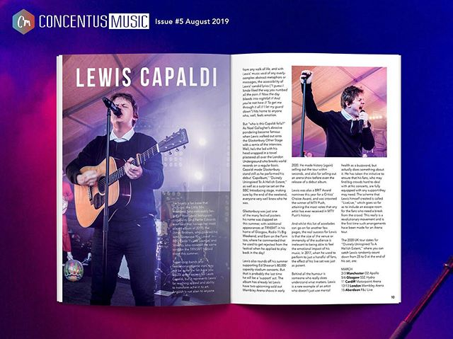 "FEATURE OF THE DAY // P9-10  @lewiscapaldi and his record breaking ""Capalbum,"" and behind the humour is an artist who cares for his fans anxieties with his 'LiveLive' initiative. Magazine #5 avail now in Rough Trade or online 🔥  #lewiscapaldi #newmusic"