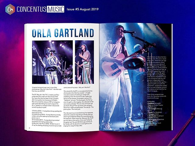 FEATURE OF THE DAY // P7-8  @orlagartland and a look in to her new EP 'Why Am I Like This' - the existential pop tunes that describe Orla's key moments living in London. Plus, upcoming tour dates! Magazine #5 avail now in Rough Trade or online 🔥  #orlagartland #whyamilikethis #newmusic