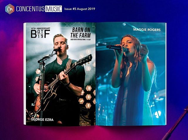 FEATURE OF THE DAY // P21-26  A collection of the finest photos from @barnonthefarm Ten Year Anniversary! Featuring George Ezra, Maggie Rogers and more. Magazine #5 avail now in Rough Trade or online 🔥  #barnonthefarm #festival #newmusic #georgeezra #maggierogers