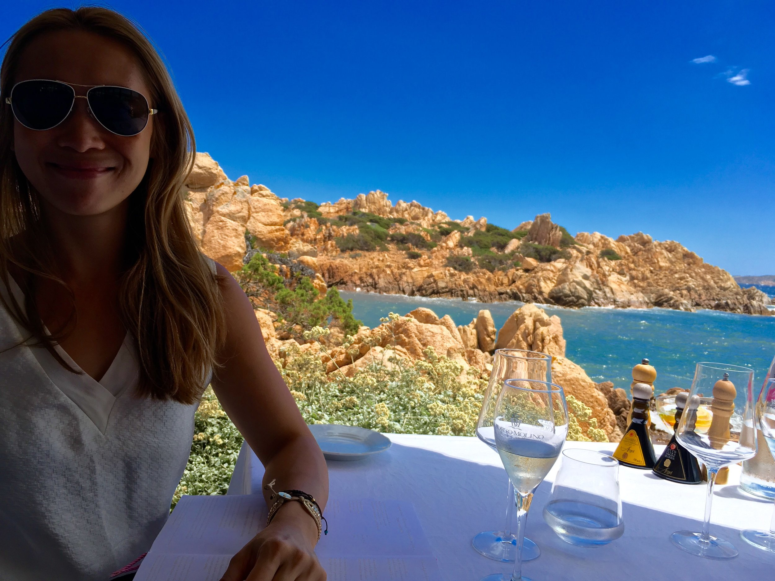 Lunch at La Scogliera