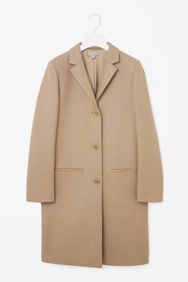 Cos camel coat