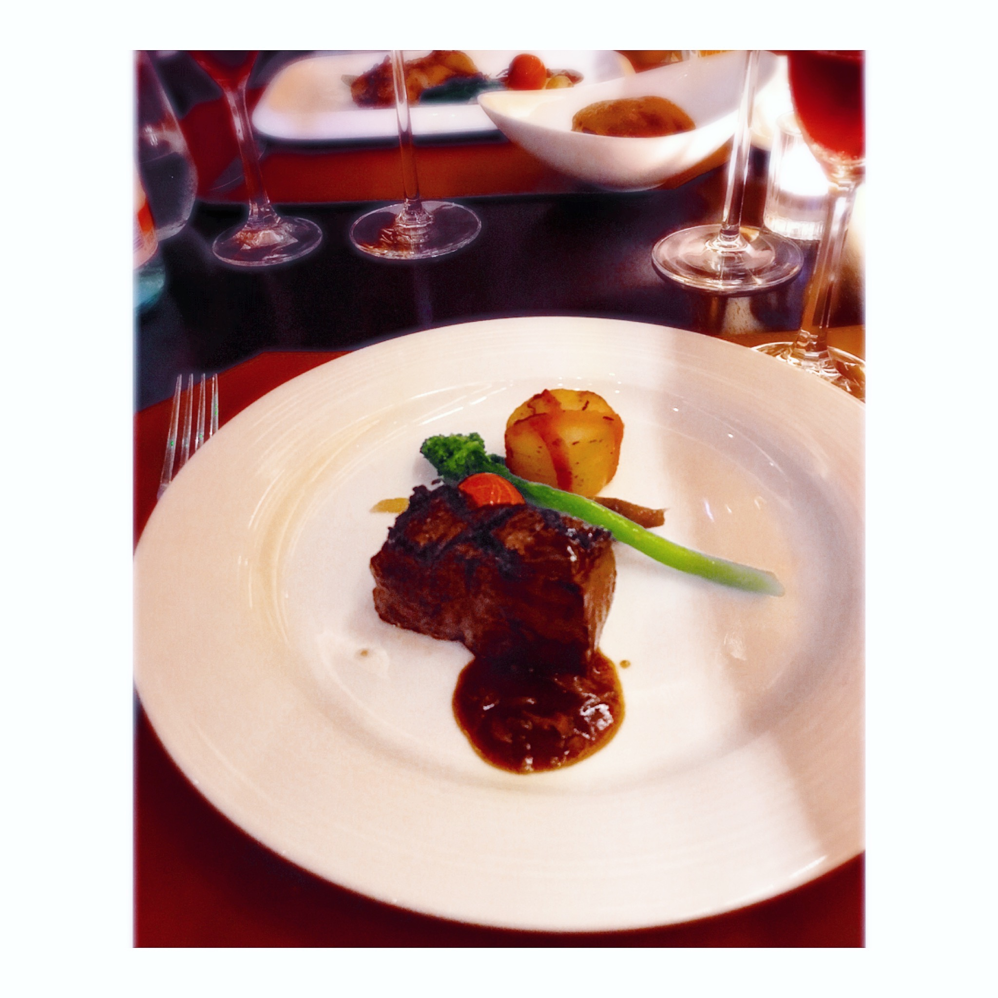 Beef Fillet with Scallop