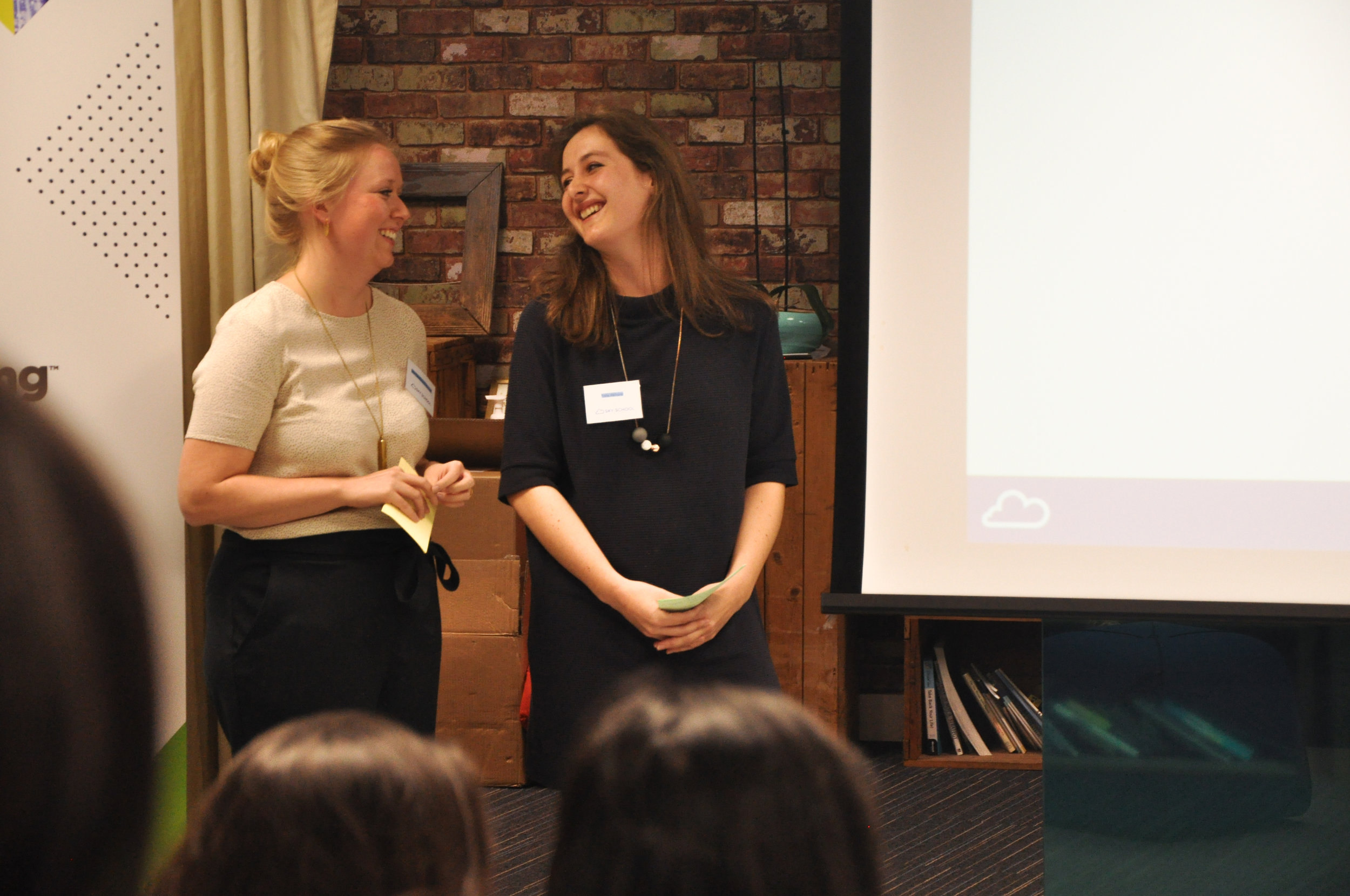 Co-founders and Co-Executive directors  Mia Eskelund Pedersen  and  Polly Akhurst .