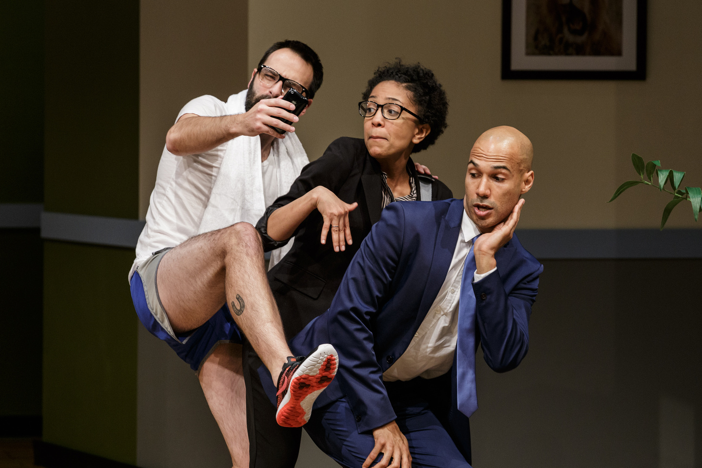 Movers + Shakers by Deborah Stein (directed by Suli Holum) photo: Jim Carmody