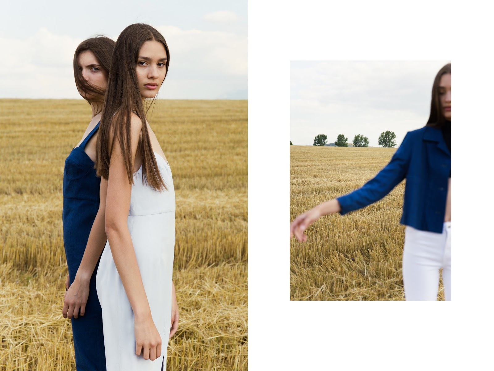 Dresses and jacket Waltz Studio