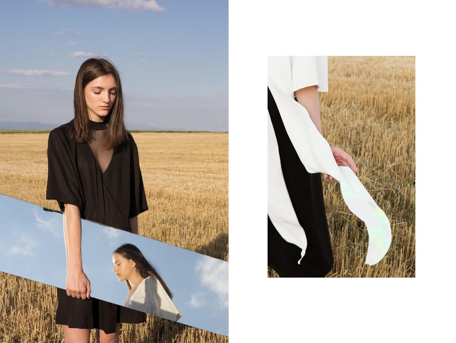 Transparent top 05 Studio , Dress and kimono blouse Waltz Studio