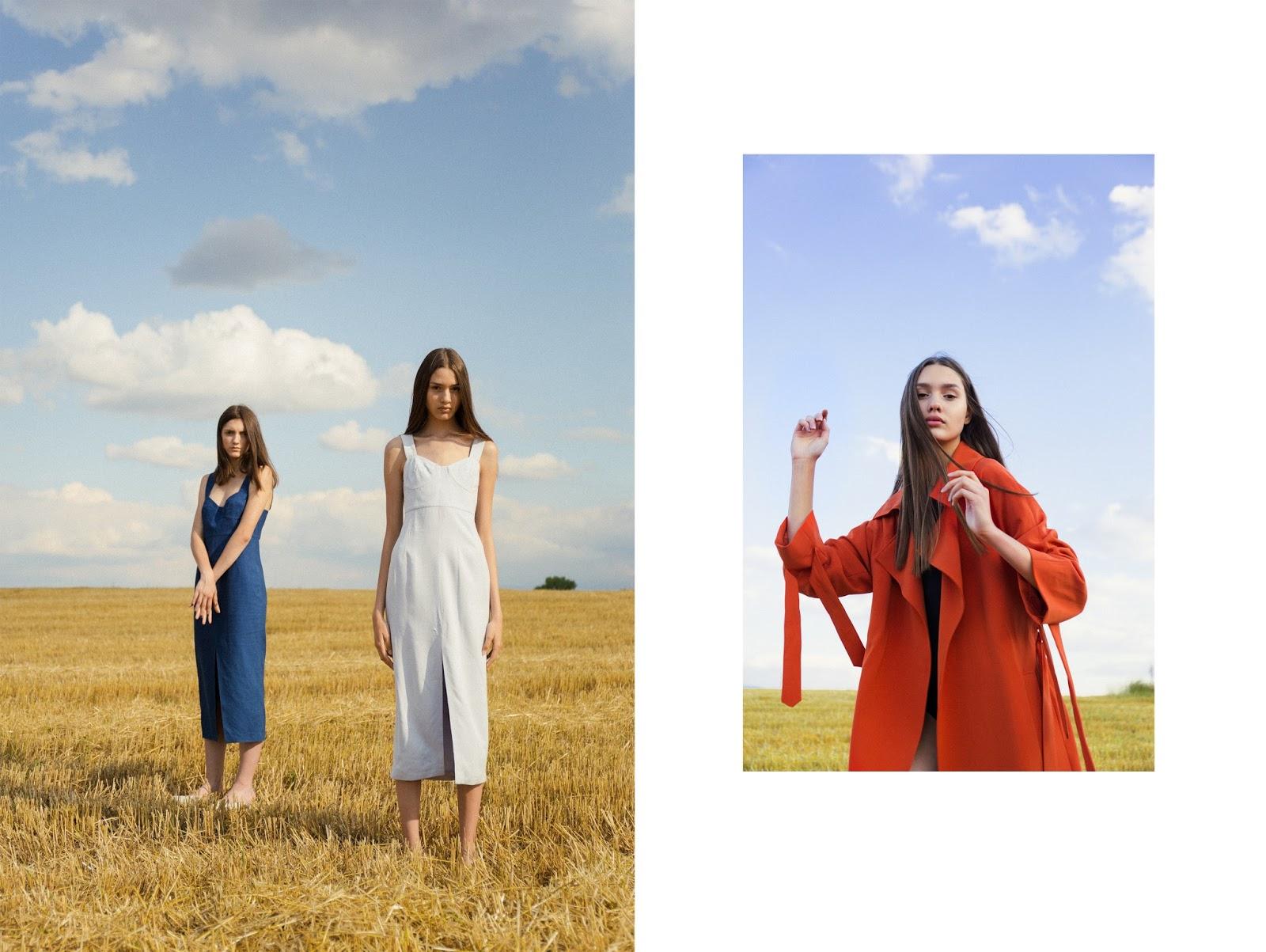 Dresses Waltz Studio, Trench H&M