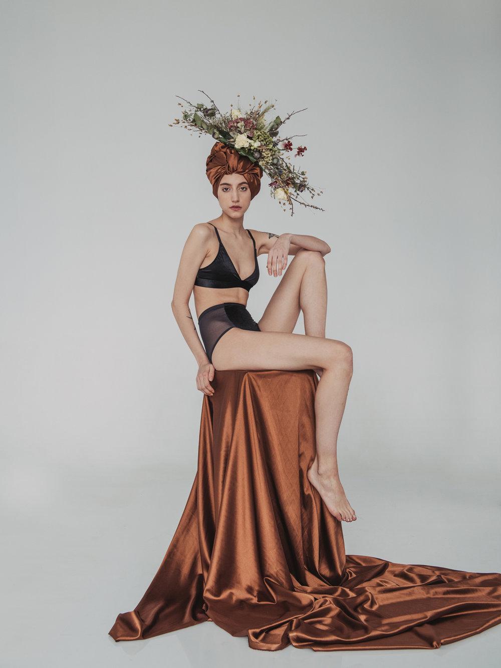 'Modern Goddess'  lingerie campaign