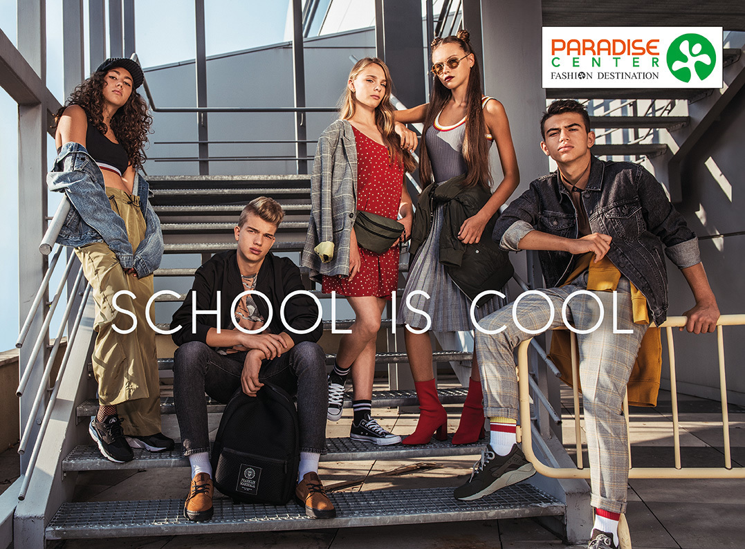 Fall Advertisement Campaign for Paradise Shopping Center