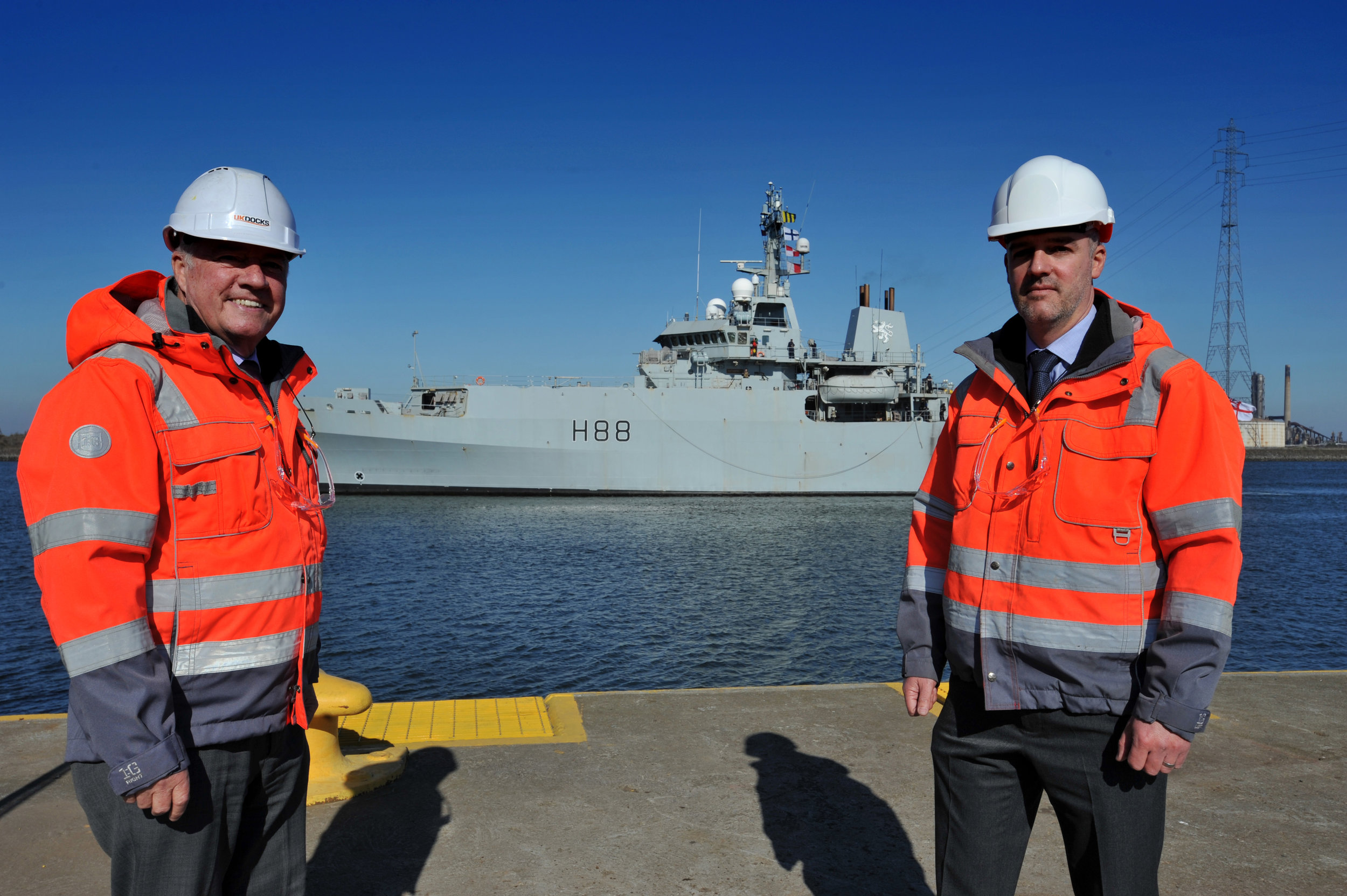 UK Docks begins £150m contract maintaining Royal Navy marine research vessels.