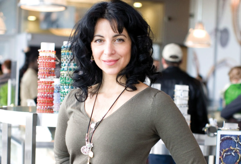Carolyn Rafaelian, founder of Alex and Ani. Photo by Rhode Island Monthly magazine