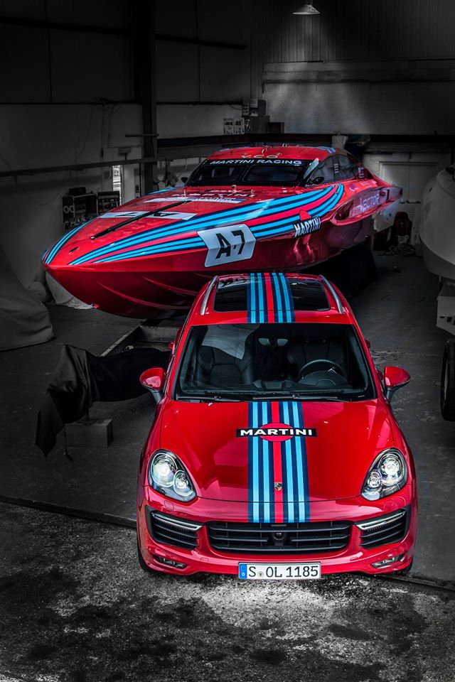 Vector Martini Racing-Rosso With OMD