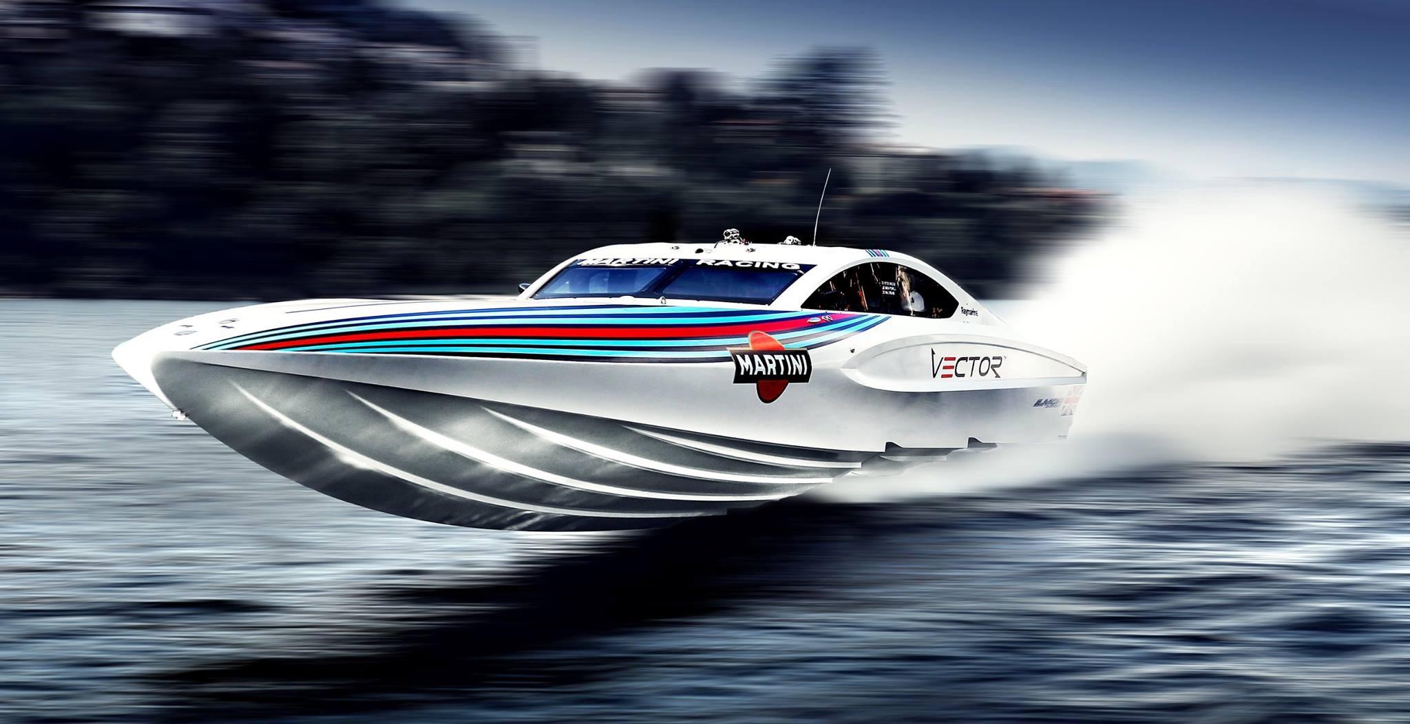 Vector Martini Racing -Blanco-With OMD