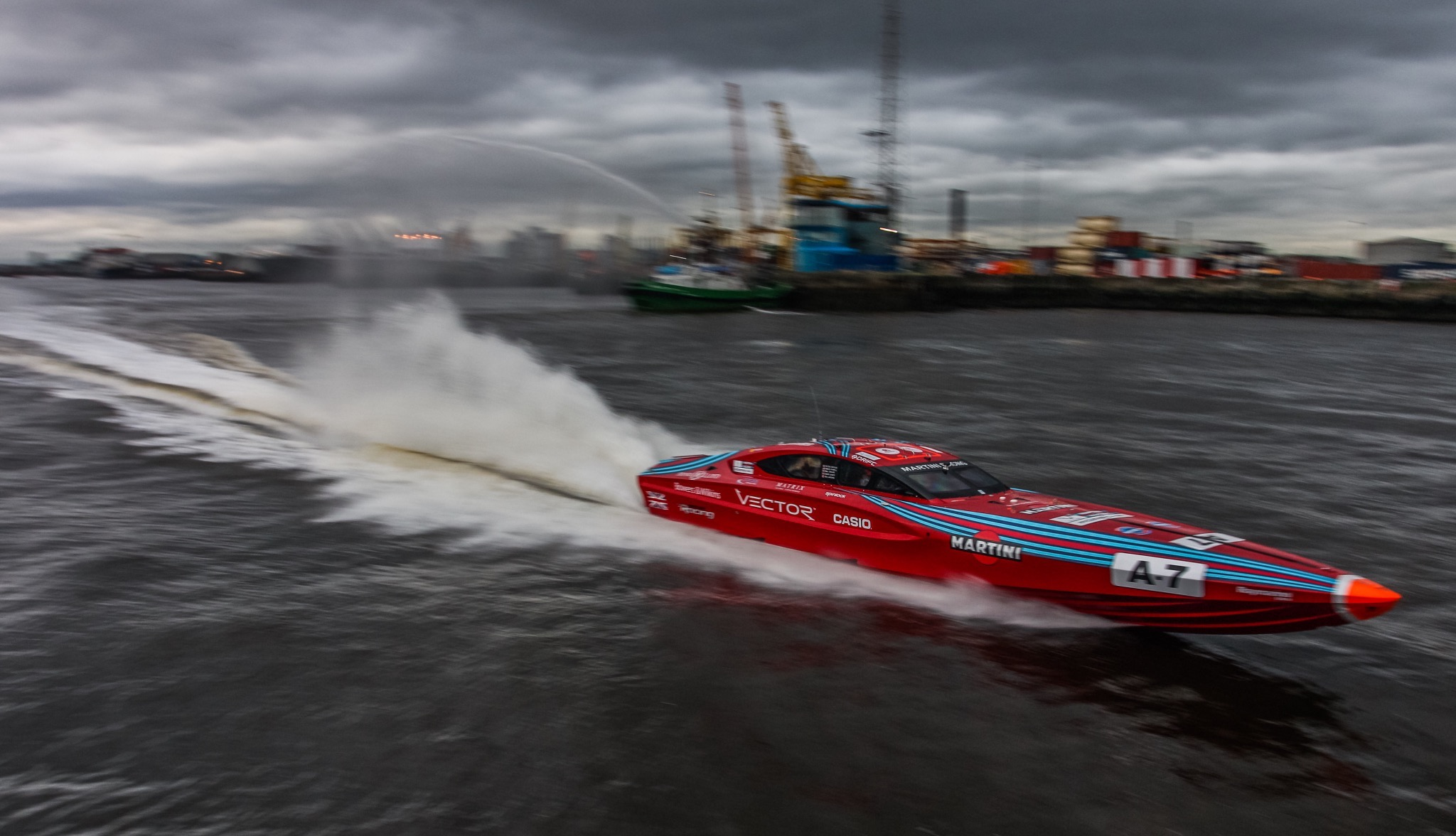Vector Martini Racing-Rosso-With OMD