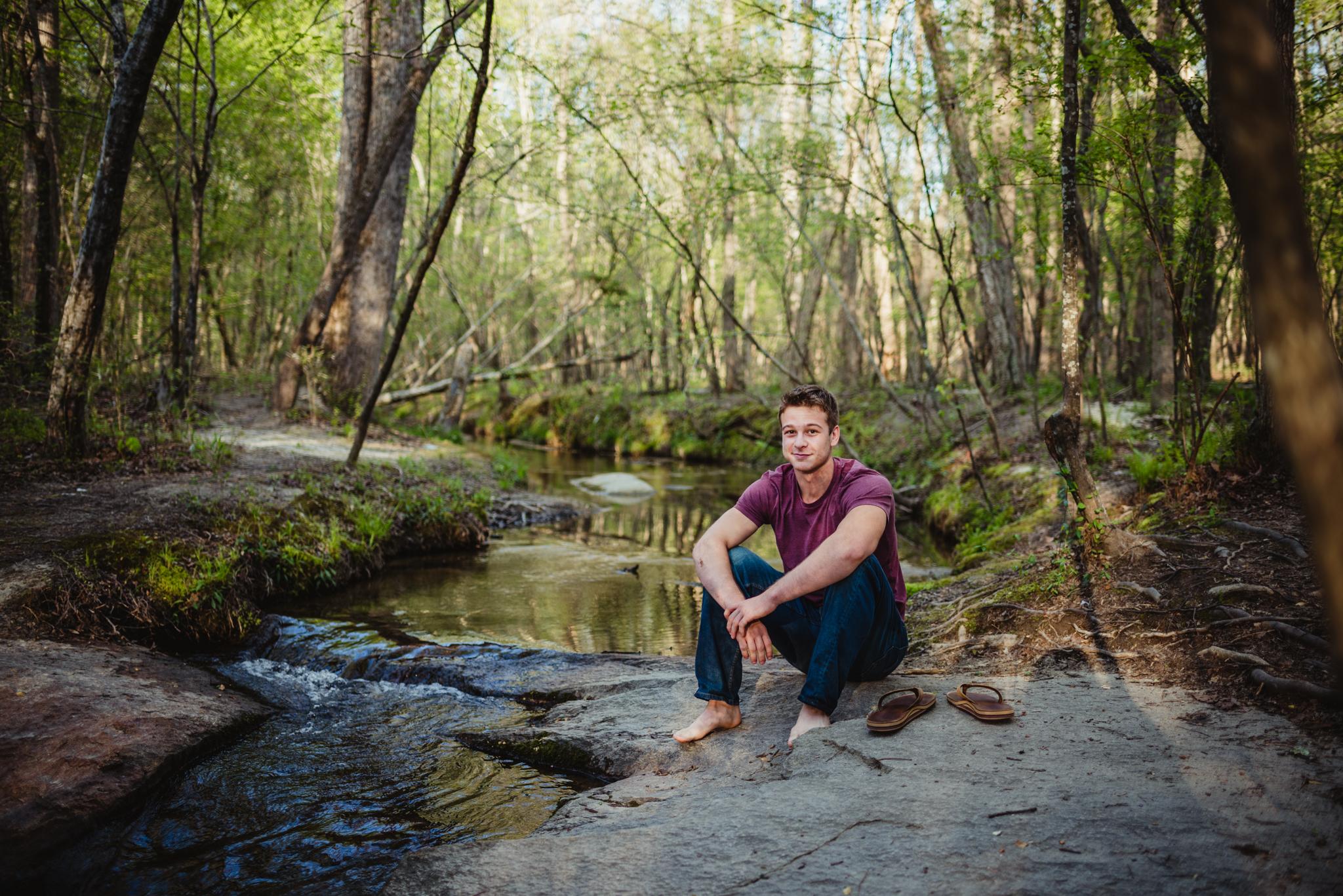 Raleigh Senior Session, Luke
