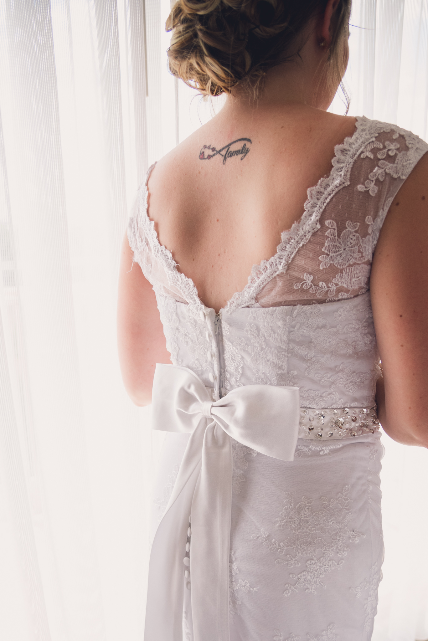Raleigh Wedding, DoubleTree Hotel, Megan and Adam, wedding dress