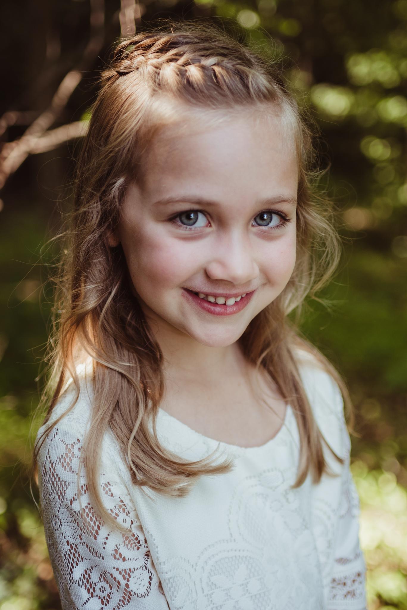 Wake Forest, HorseShoe Park, Madison's kid portrait