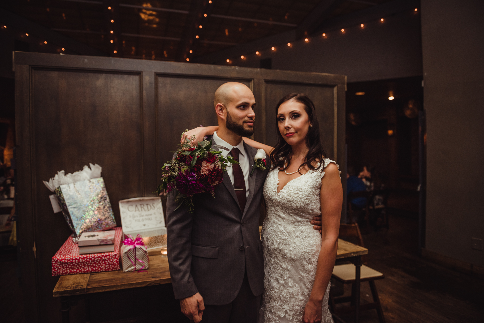 The Architect Bar and Social House, Raleigh Wedding photography, bride and groom, Martha and Sid