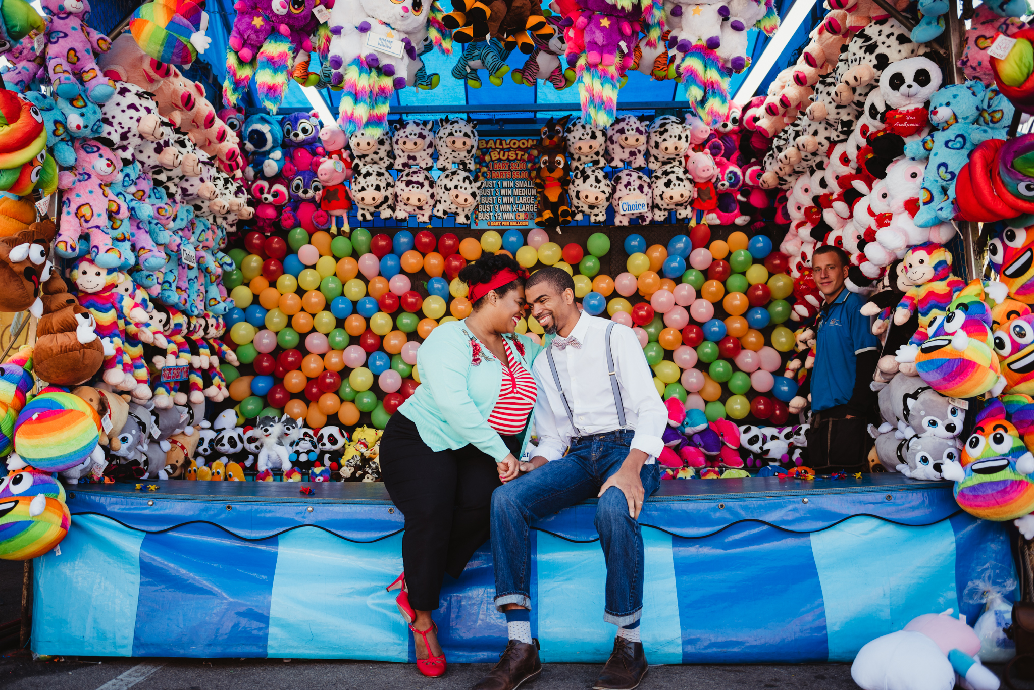 five-year-anniversary-photo-shoot-in-front-of-the-balloons-at-the-NC-State-fair.jpg