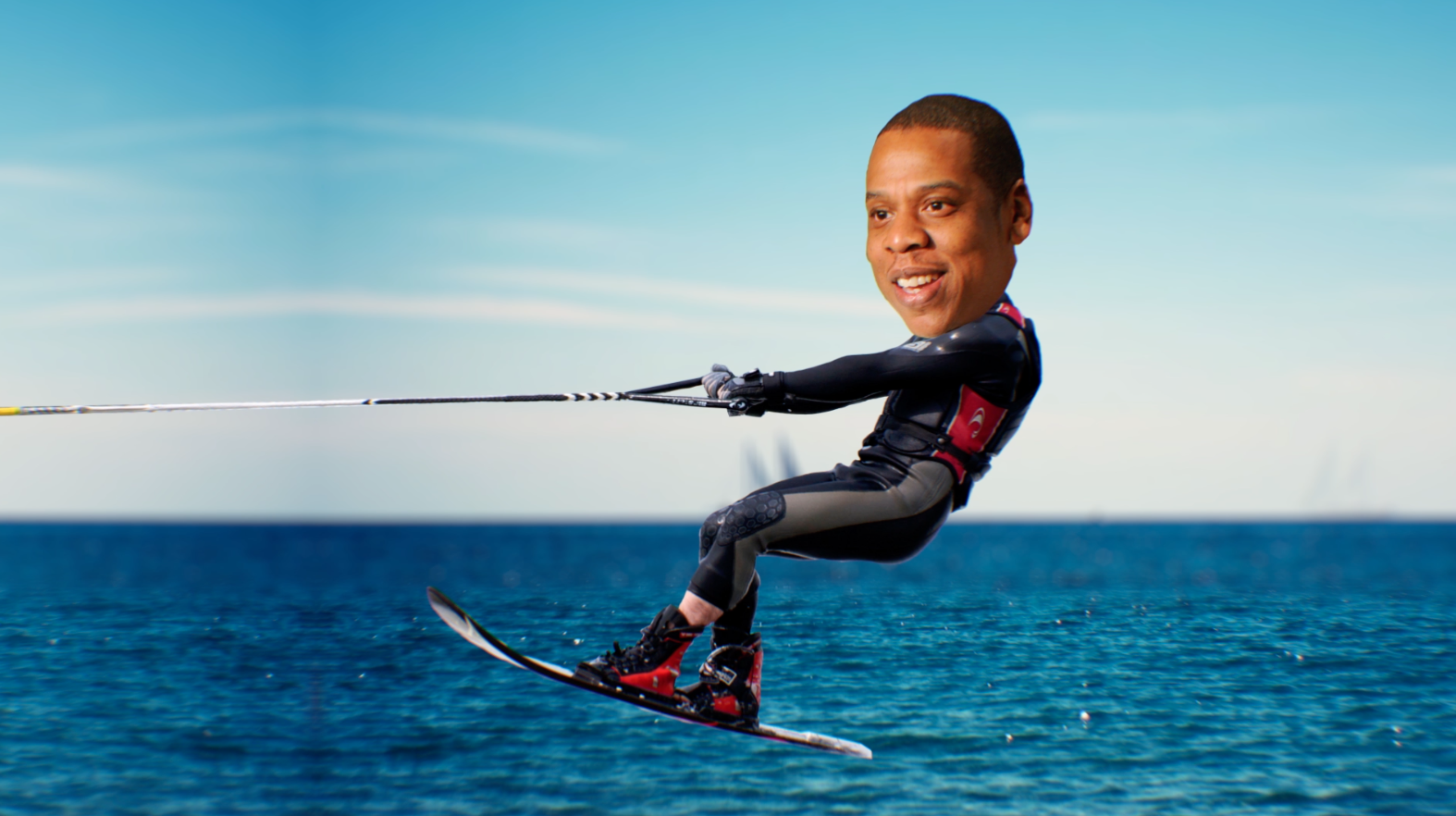 JAY-Z ON A WATERSKI
