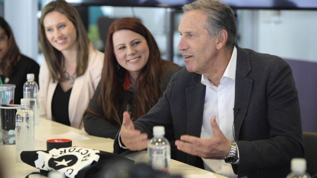 Howard Schultz at Bunker Labs in Austin, TX