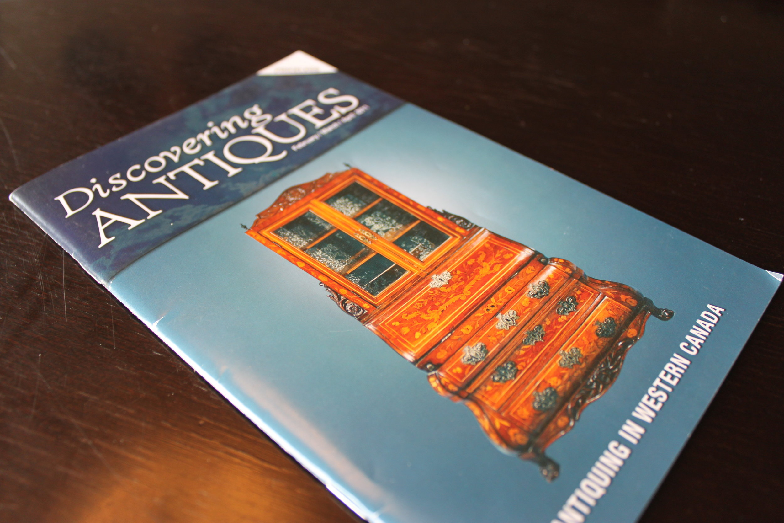 Magazine design, Discovering Antiques