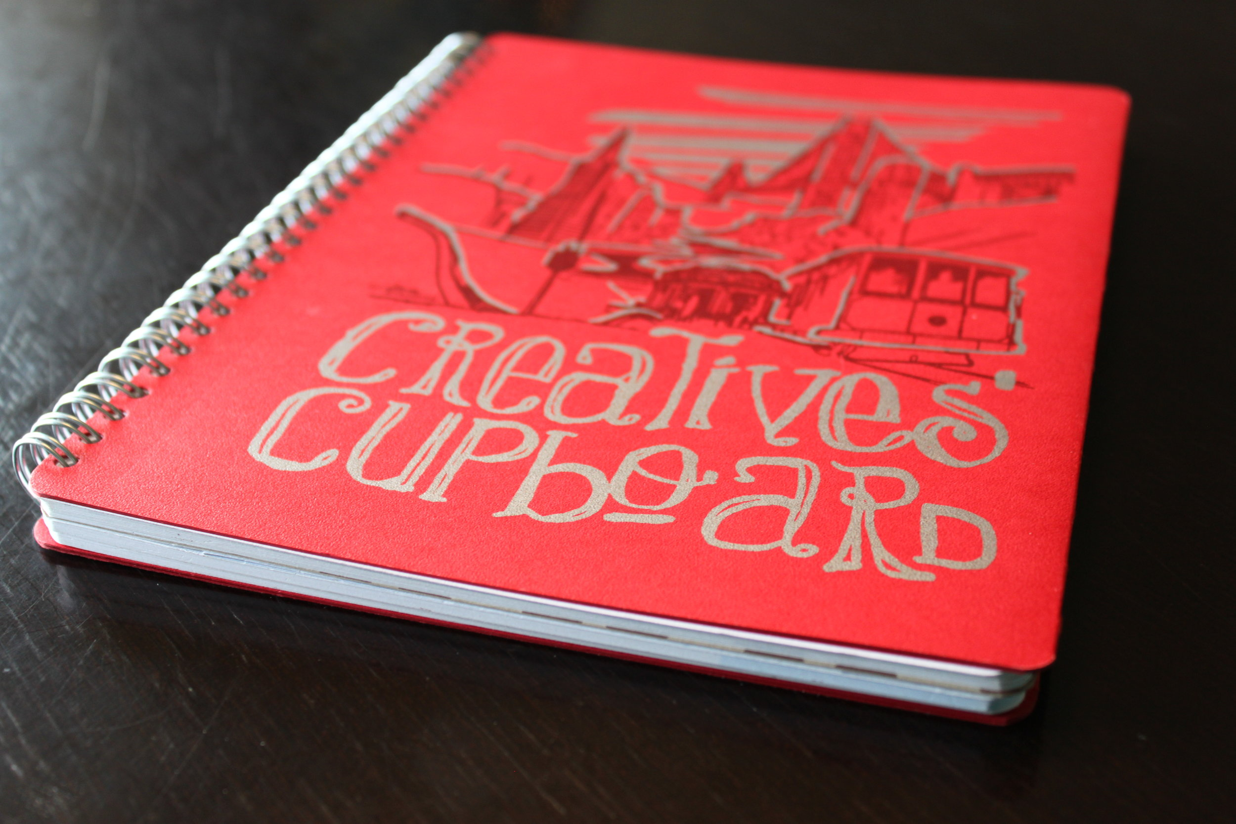 Customized myNote Design, Creatives' Cupboard