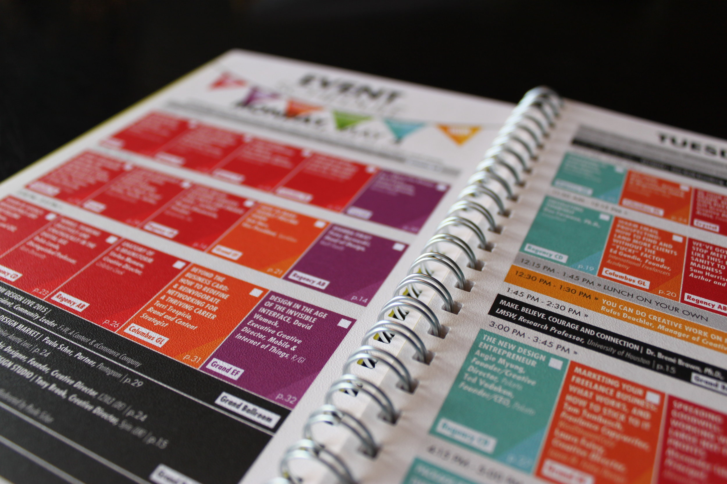 HOWLive 2015 Event Directory, F & W Publishing