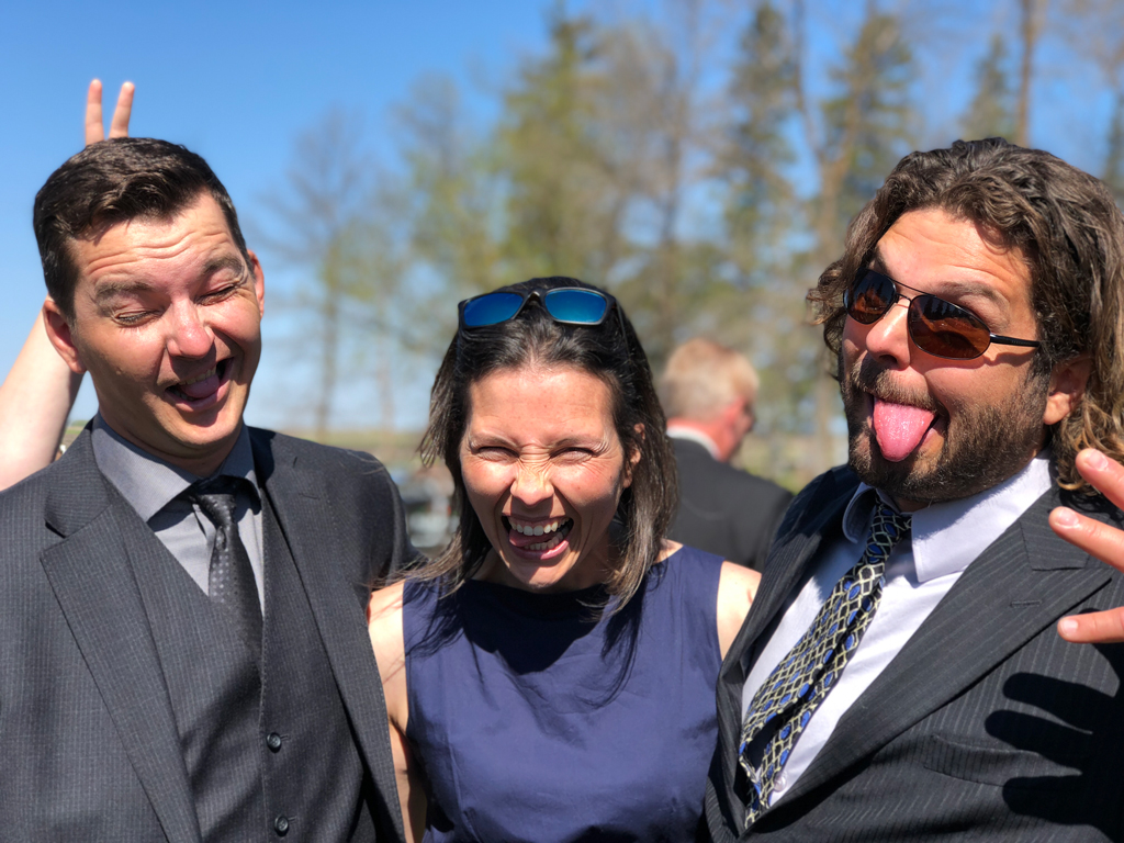 Funerals are emotional events, I am blessed with a family that embraces all spectrums of emotions, even the silly ones.