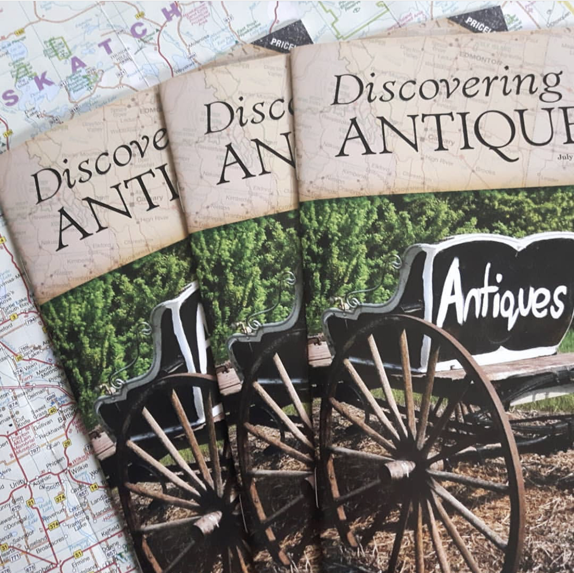 Discovering Antqiues Magazine