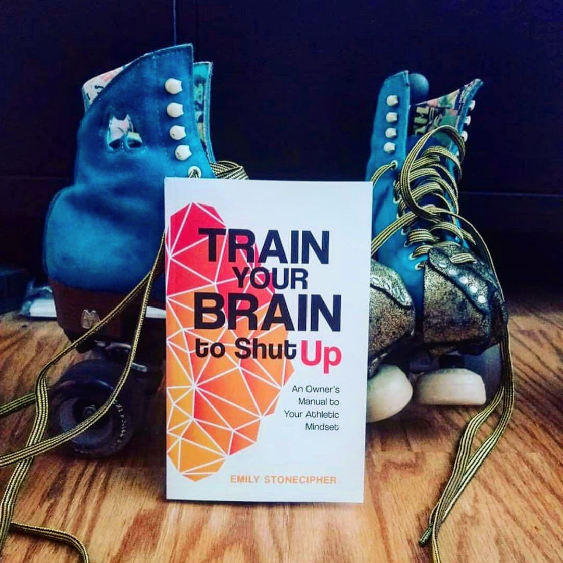Train your brain to shut up, Book design