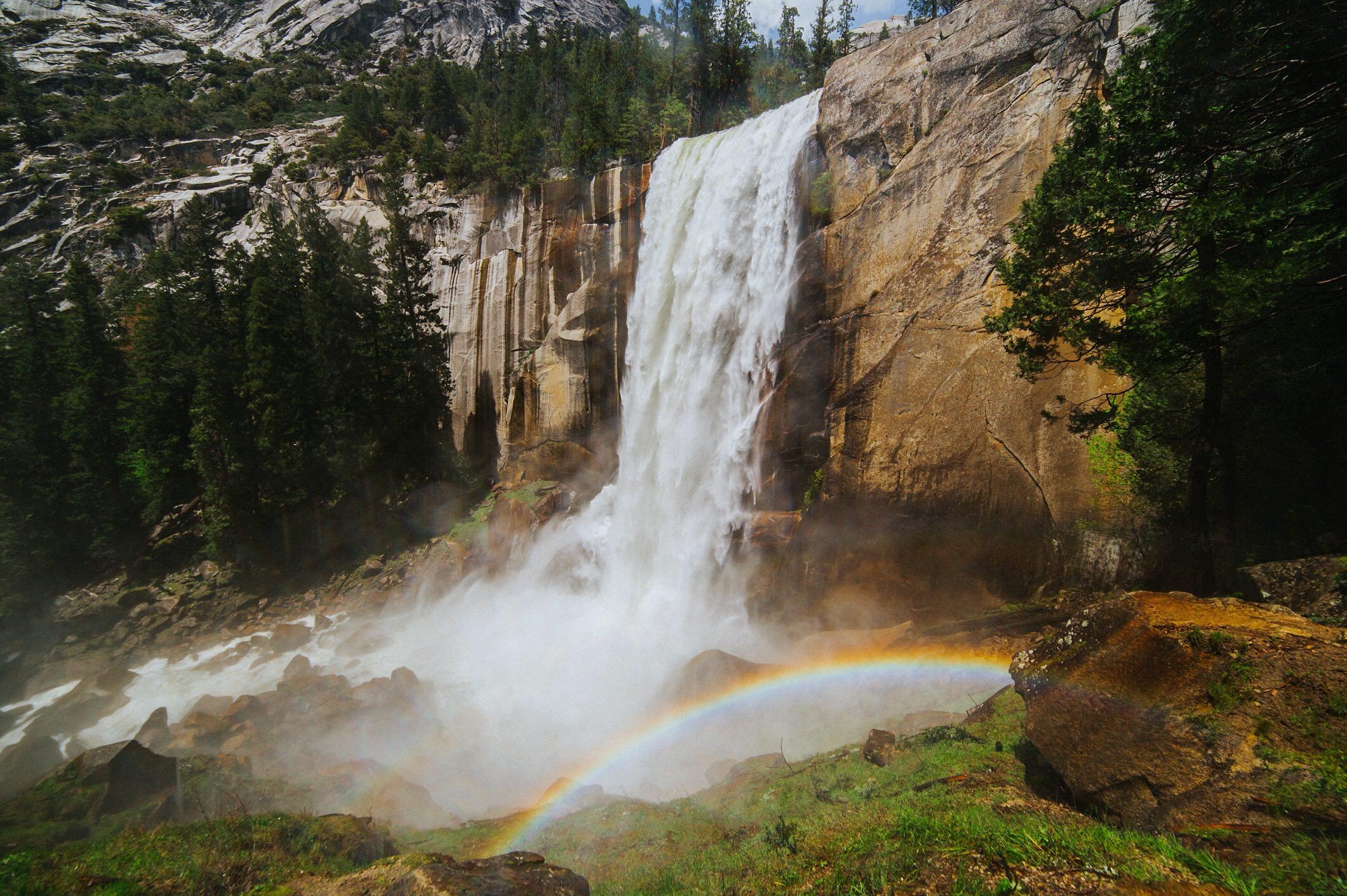 Waterfall Yosemite California.JPG