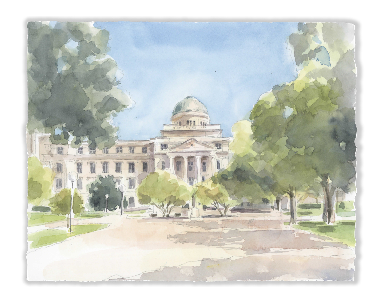 The Academic Building - Texas A&M