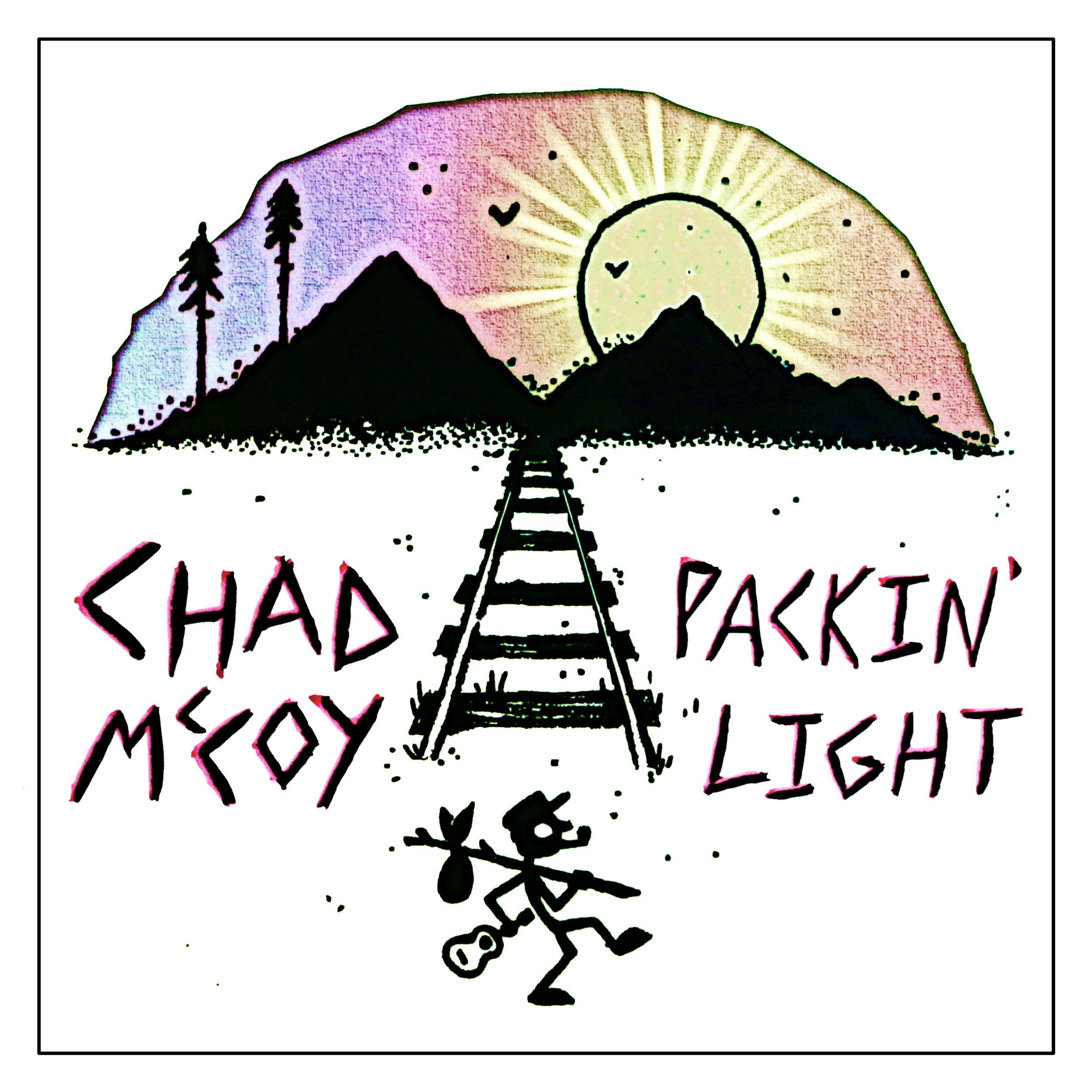 Packin' Light E.P. - Released Feb 2019 - Produced by Siegfried Meier and Chad McCoy