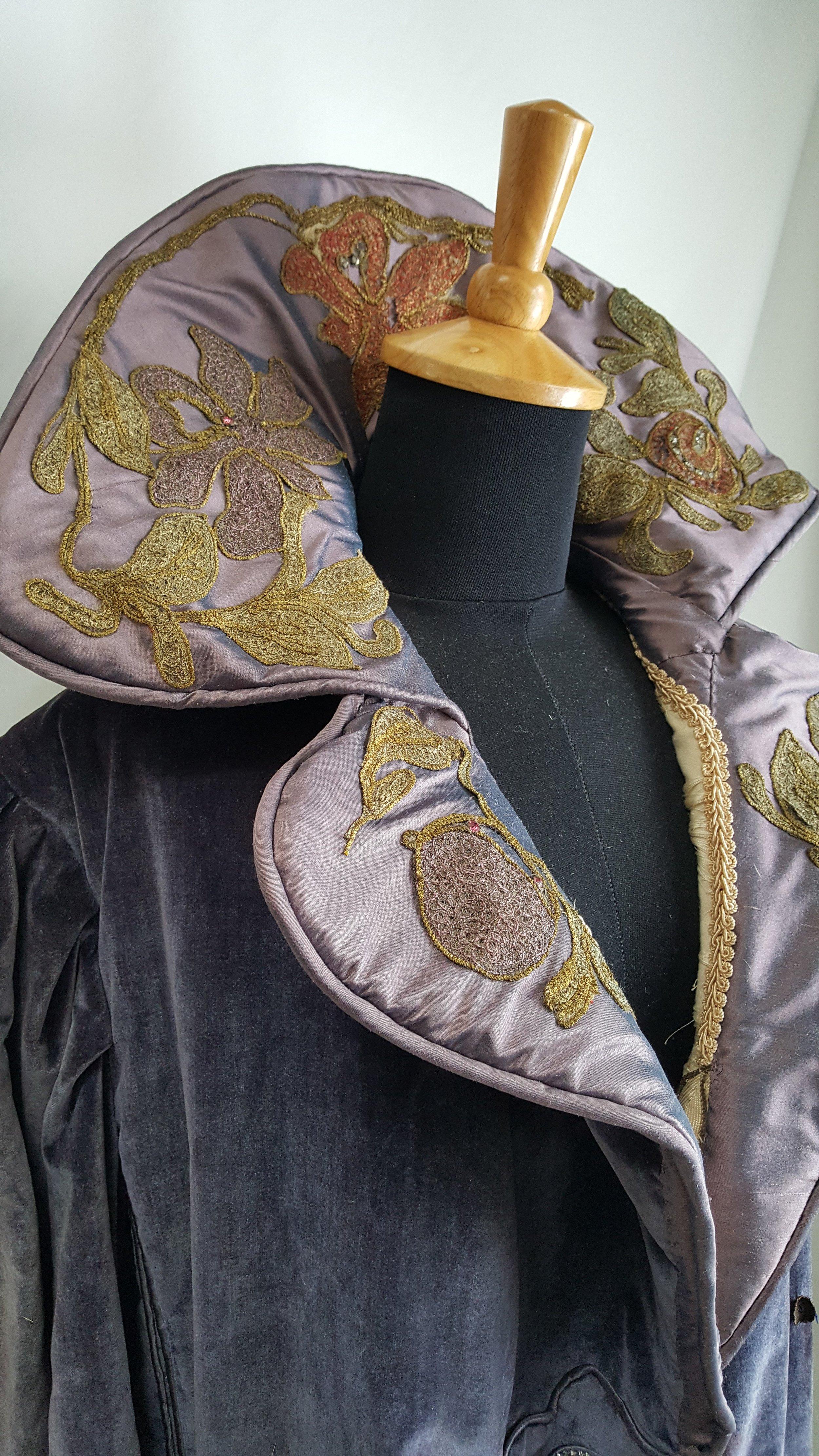 - A collar reconstruction project for Gadabout Vintage.