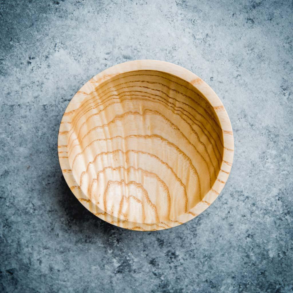 white ash bowl