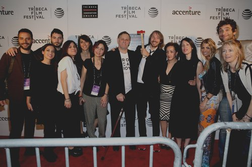 Pictured Above: A group of Fellows pictured with co-founder Craig Hatkoff
