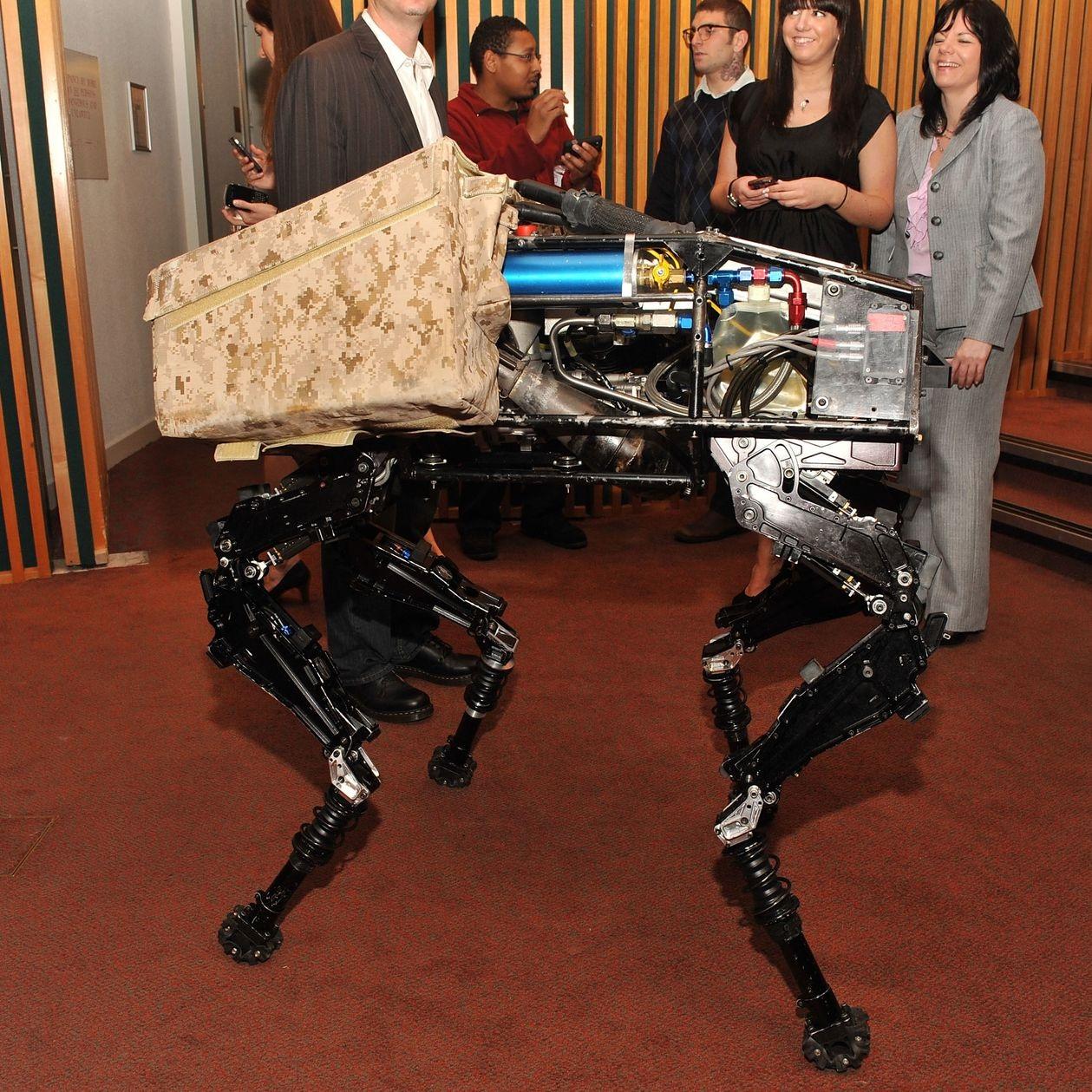 Robot at the 2011 Tribeca Disruptive Innovation Awards. PHOTO: SLAVEN VLASIC/GETTY IMAGES