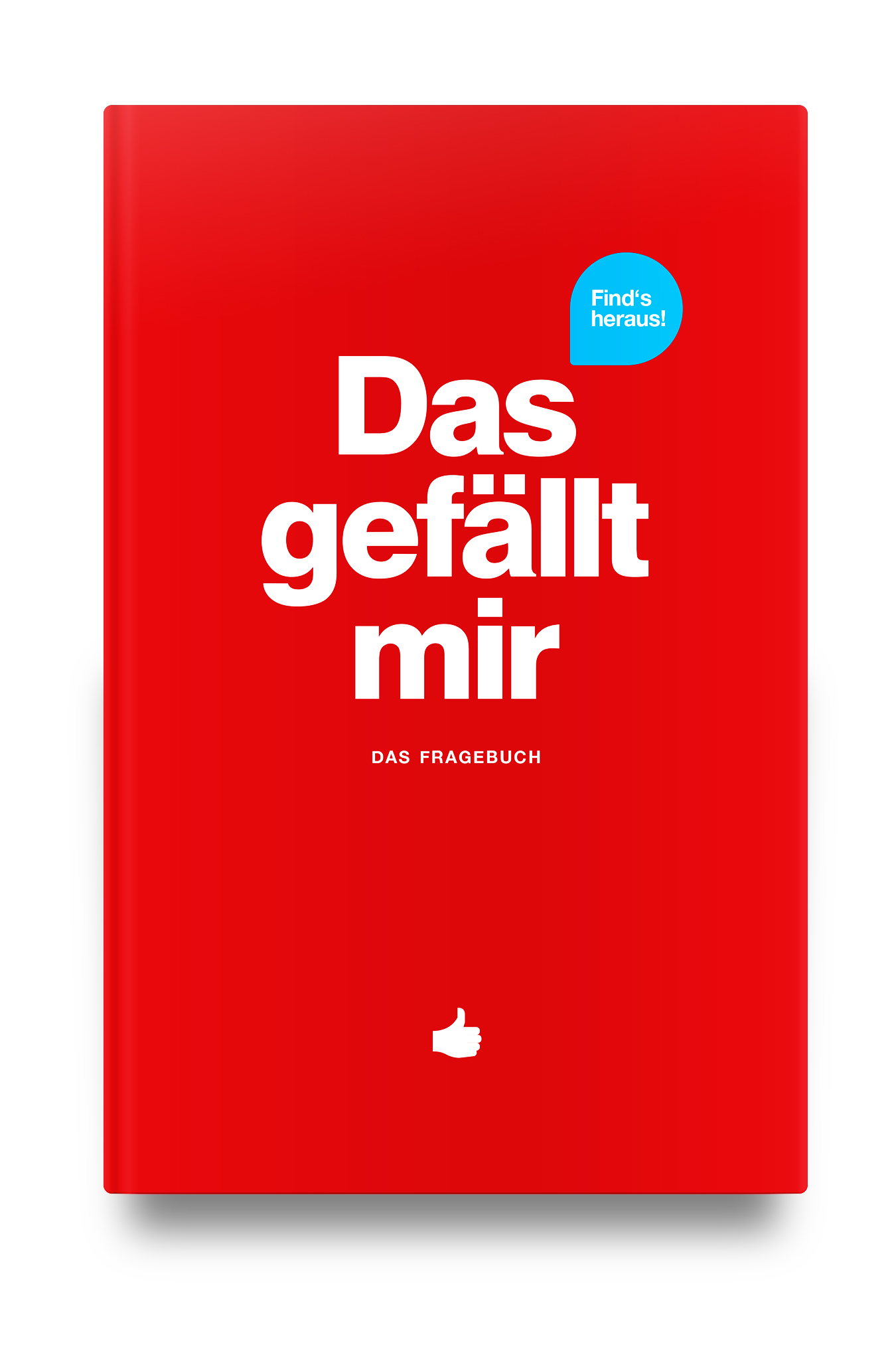"""Das Fragebuch   Das neue """"Das gefällt mir"""" Fragebuch – rund um alles, was dir gefällt. Jetzt in Rot!"""